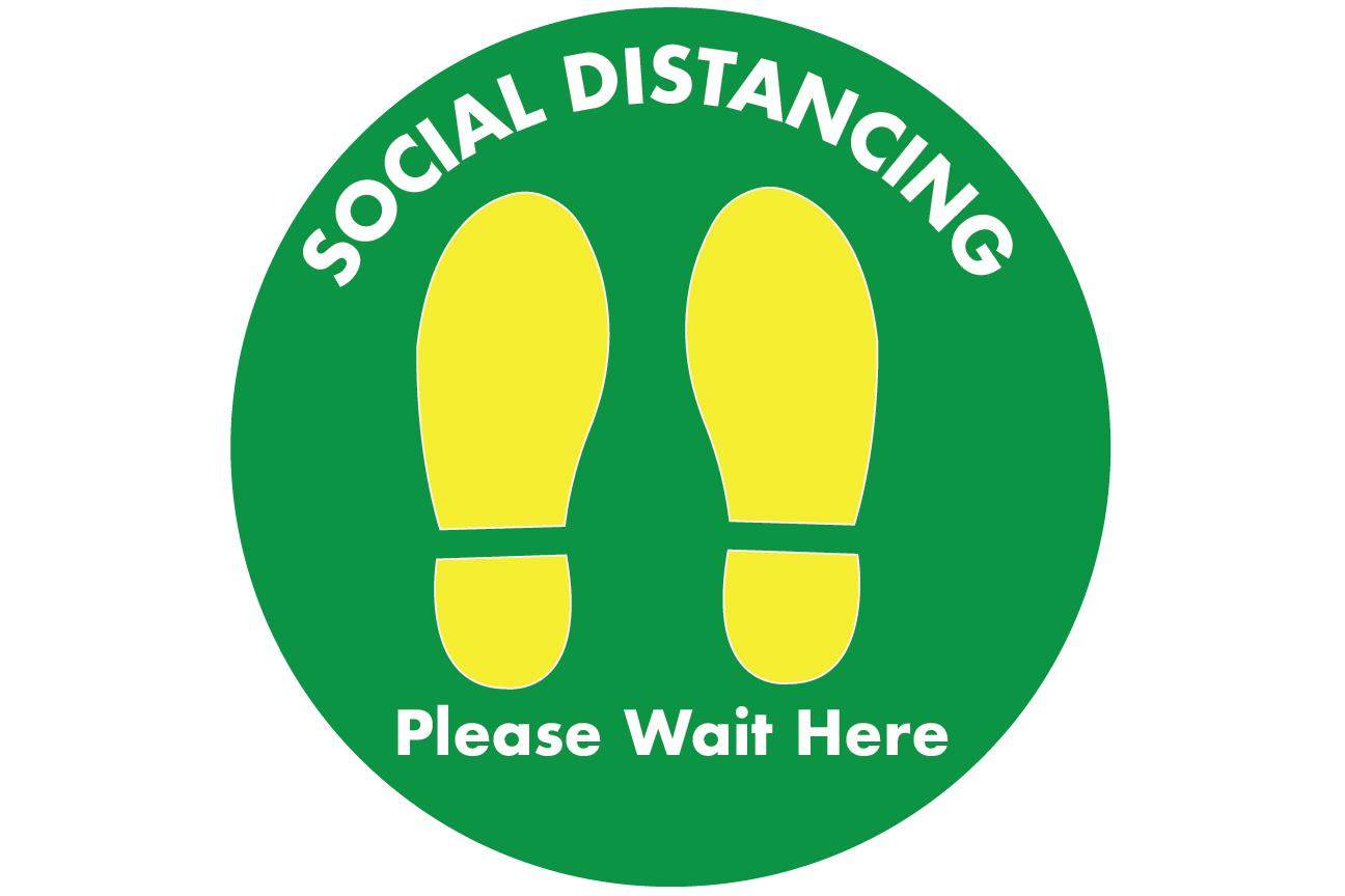 Social Distancing Decals 05