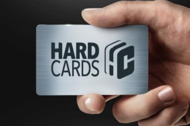 Hard Cards: Rigid Aluminum Business Cards