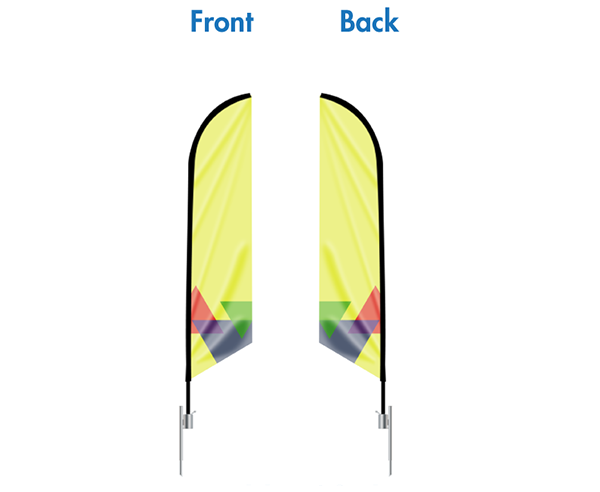 Feather Flags Double Sided