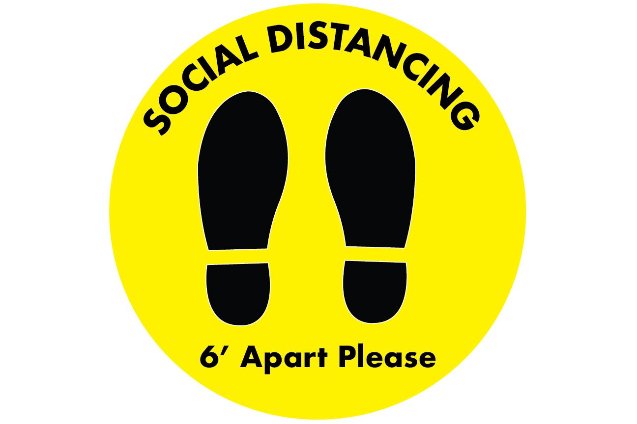 Social Distancing Decals 03
